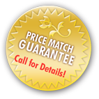 Price Match Guarantee - Call for Details!